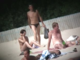 My own beach voyeur video of nude hot girls sunbathing