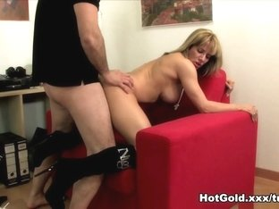Best pornstar Ana Monte Real in Incredible Blonde, Big Tits sex scene