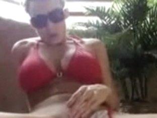 Cookie masturbation vids hawt non-professional angel masturbates on balcony