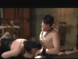 Femsub Spanked And Screwed In The Butt