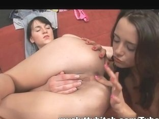 MySluttyBitch Video: Girl to Girl Hardcore Action