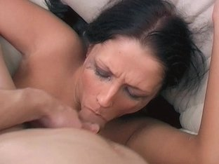 Amazing Teen Amber Gets Her Cute Face Abused