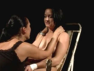 Raging Mandy Bright has some fun with this whore