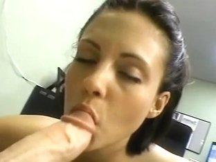 Elizabeth Torlotto Deepthroats Her Fist Large Weenie