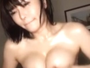 Super Sexy Busty Anri Okita Oil Grope and Fuck