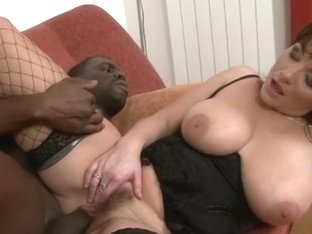 Next Door Mommies: Mom with monster tits fucks a black cock