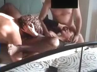 Spanish older wife 3some with juvenile ramrod and hubby