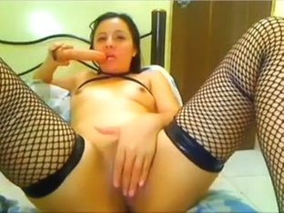 beautiful colombian on webcam