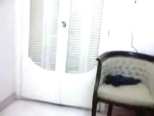 Chunky feels wonderful on web camera and stripteases