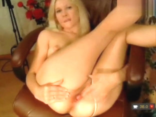 Melona fingering her pussy