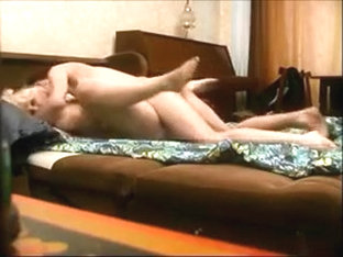Curvy aged fucking with a younger man on hidden livecam