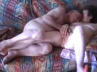 Lewd mature couple still love to have fun on web camera