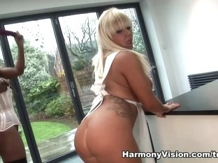 Horny pornstars Tiffany Kingston, Jasmine Webb in Crazy Big Ass, Dildos/Toys adult video