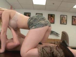 Lesbian casting with Avril Hall and Marissa