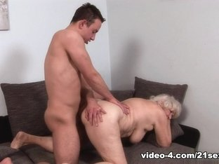 Incredible pornstar in Horny Grannies, Hairy adult scene
