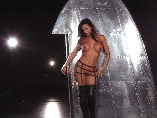 Fabulous pornstar Erika Knight in Incredible Big Tits, Brunette adult scene