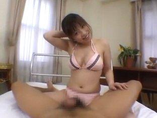 Amazing Japanese slut Rin Satomi in Incredible Big Tits, Handjobs JAV video