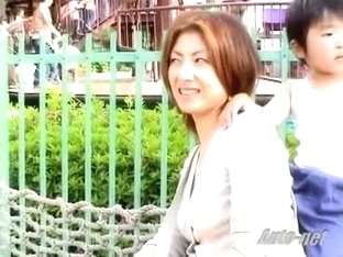 Japanese women getting their tits caught on a spy cam