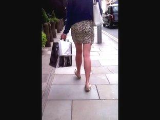 slut in a short skirt