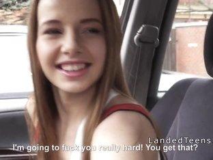 Russian teen hitch fucks stranger