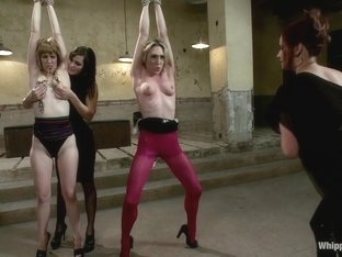 Crazy blonde, fetish sex movie with exotic pornstars Bobbi Starr, Maitresse Madeline Marlowe and L.