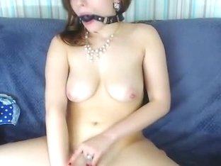 Red Head Hawt Hottie Masturbates Hard on Livecam