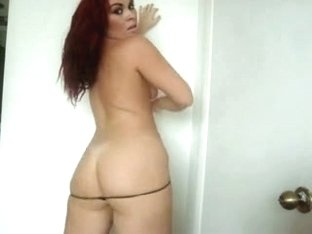 Thick Latina Whore Kinky Dance Twerk & Asshole Flash - Ameman