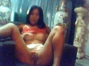 my ex filipina gf is entire in nature's garb for masturbating