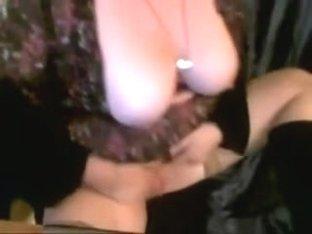 Breasty Kissa Masturbating