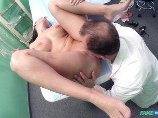 Exotic pornstar in Amazing Voyeur, Medical sex video