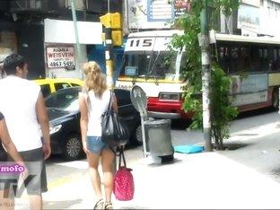 Lon socks blonde whore underskirt spy horny voyeur video