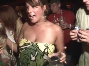 Hottest pornstar in crazy voyeur, group sex porn scene