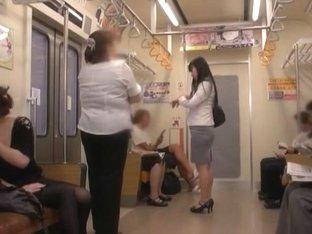 Incredible Japanese slut in Horny Public JAV video