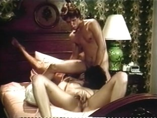 Amazing pornstars Ginger Lynn and Dorothy Onan in fabulous threesomes, brunette xxx video