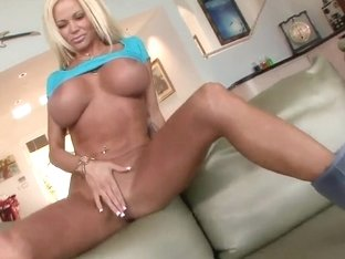 Busty milf Nikita Jaymes teases all over the place