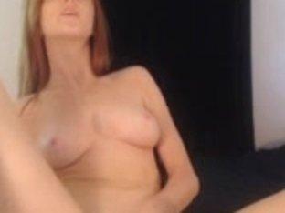 Redhead girl on the web
