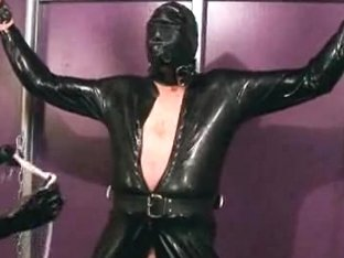 Free spandex sex movie with blonde and sex leather man