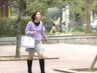 Bodily short-haired Asian bitch getting pulled into instant sharking affair