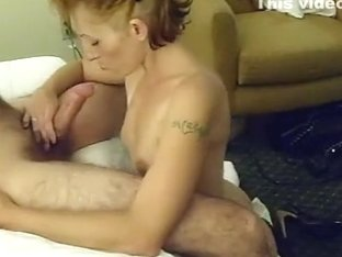 My hot wife sucking my hard prick
