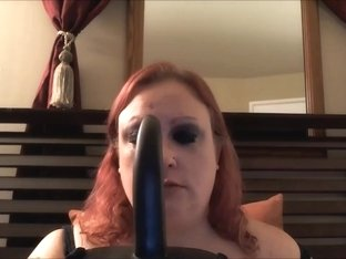 In my chubby amateurs vid, I'm sucking a dildo
