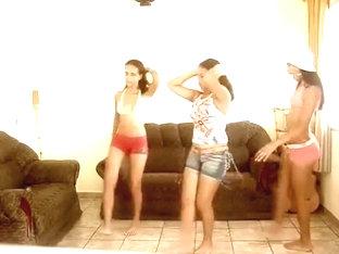 Fabulous twerking web camera legal age teenager movie