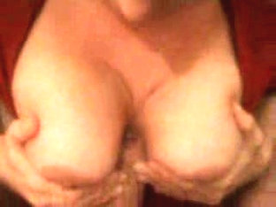 Busty chick gets a pearl necklace
