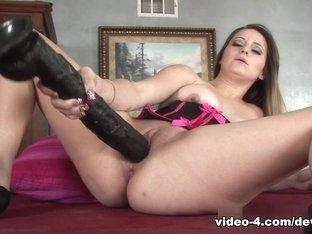 Best pornstar Missy Sweet in Hottest Dildos/Toys, Redhead xxx scene