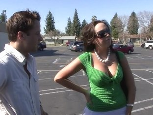 Fabulous pornstar Raquel Rossi in crazy blowjob, big tits porn clip