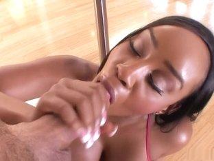 Hottest pornstar Sandi Jackmon in horny facial, big tits adult movie