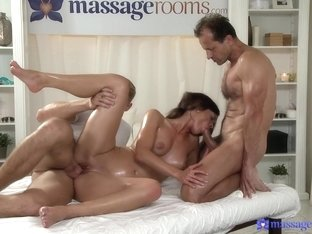 Crazy pornstars Kelly White, Ken Yontz, George in Best Massage, College porn movie