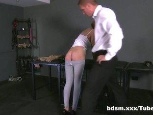 Amazing pornstar in Horny BDSM, College adult clip