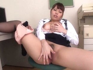 Horny Japanese girl Rion Nishikawa in Best JAV uncensored MILFs scene