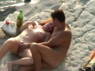 Plump redhead woman gets fucked
