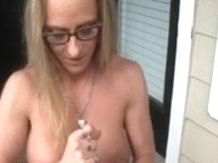 Slutty Mother I'd Like To Fuck Lube Tugjob